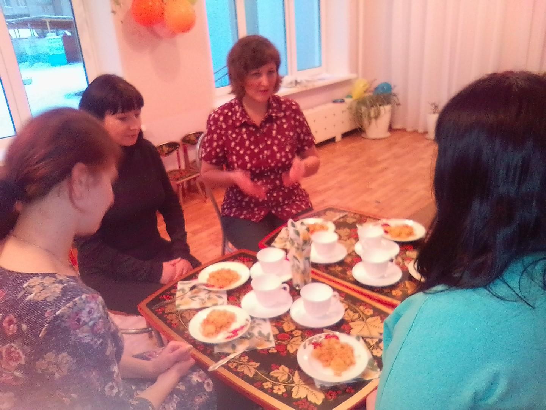 Мастер-класс и дегустация овощного блюда для родителей.