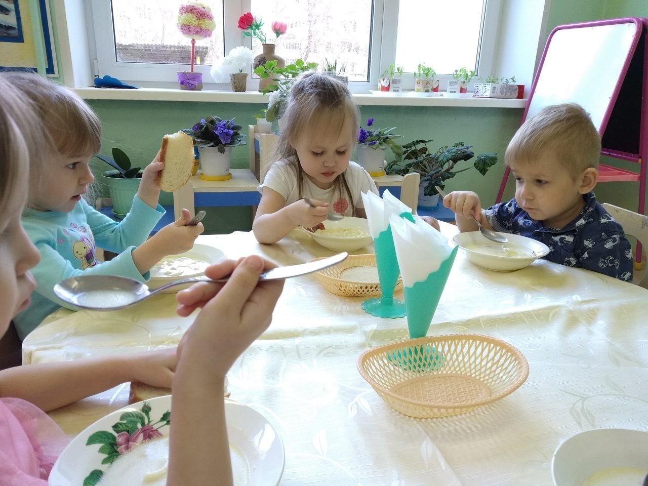 Молочный суп в детском рационе